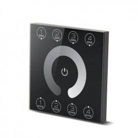 DMX CONTROLLER - Touch - 4CANALI   IN 5V   3,5W Max