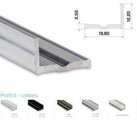 Profilo Alluminio LED MODELLO E SERIE LUMINOS
