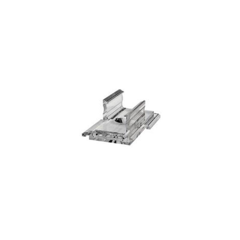 770.FIX.AH.REG.TRA  Clip fissaggio regolabile per profili di TIPO A trasparenti  Luminos Light  Accessori Illuminazione