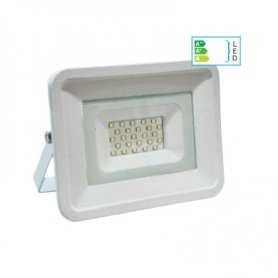 39.9FA202  Faro Bianco Slim 20W da esterno IP65  Life  Proiettori Led per esterno