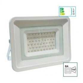 39.9FA205  Faro Bianco Slim 50W da esterno IP65  Life  Proiettori Led per esterno