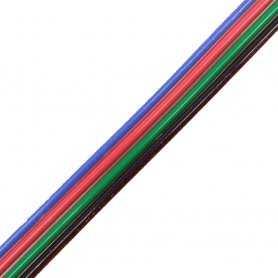 CAVO-RGB  Cavo RGB per strip Led - 4 fili - venduto al metro  Power-Supply  Accessori Illuminazione