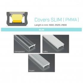770.COP-S-PMMA  Copertura Slim (PMMA) per profili tipo X  Power-Supply  Accessori Illuminazione