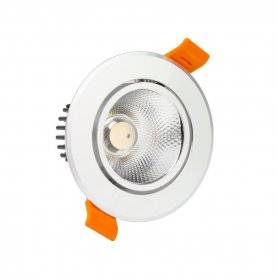 562.05.R+3 faretto incasso Rotondo Orientabile 3W 3000 - 6000 K Power-Supply Faretti Downlight