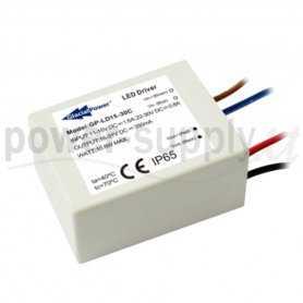 LD15-30C  LD15-30C - Alimentatore LED Glacial Power - CC - 15W / 500mA   Glacial Power  Convertitori DC/DC