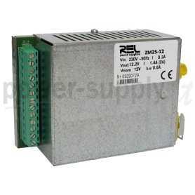 ZM25-12  ZM25-12- DC UPS System Evoluto REL Power - 27W / 12V / 2A  REL Power  Caricabatterie