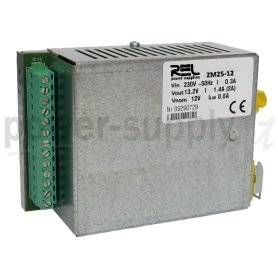 ZM25-24  ZM25-24- DC UPS System Evoluto REL Power - 27W / 24V / 2A  REL Power  Caricabatterie