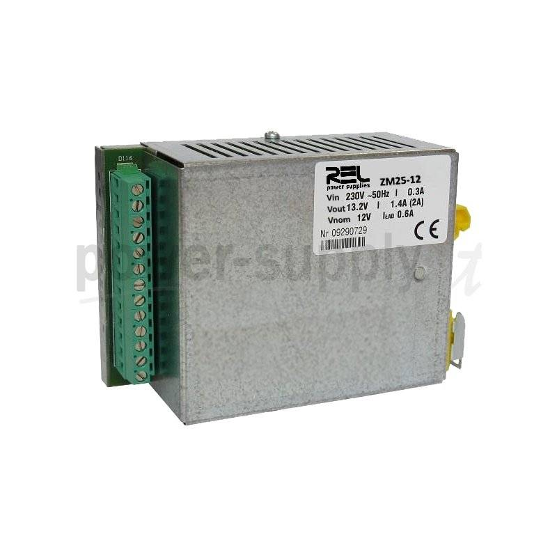 ZM50-12  ZM50-12- DC UPS System Evoluto REL Power - 55W / 12V / 4A  REL Power  Caricabatterie