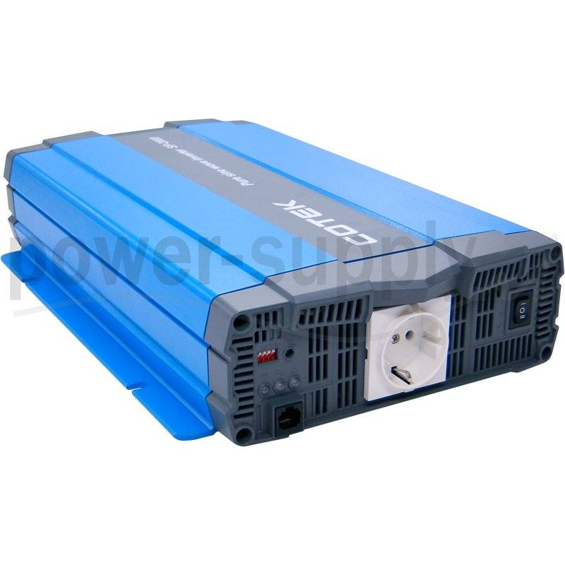 SP-2000-212  SP-2000-212 - Inverter Cotek 2000W - In 12V Out 220 VAC Onda Sinusoidale Pura  Cotek Electronic