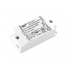 SNP8-12VL-2  SNP8-12VL-2 Alimentatore LED Snappy - CV/CC - 8W / 12V / 670mA   Snappy  Alimentatori LED