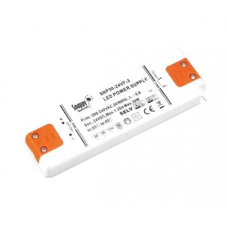 SNP30-12VF-3 Alimentatore LED Snappy - CV - 30W / 12V
