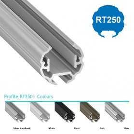 Profilo Alluminio LED MODELLO RT250 - Serie Luminos , Profili Alluminio , Luminos Light