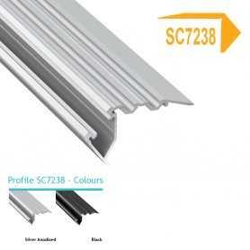 Profilo Alluminio LED MODELLO SC7238 - Serie Luminos , Profili Alluminio , Luminos Light
