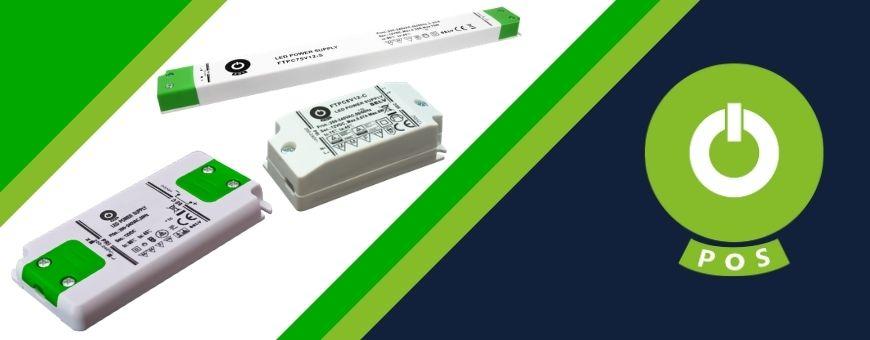 POS Power alimentatori per LED compatti