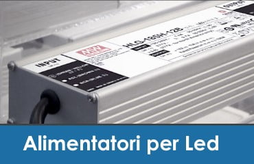 Alimentatori per Led Mean Well Snappy Relpower