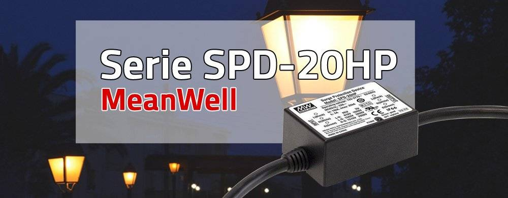 Nuova serie SPD-20HP ad alte prestazioni e protezione da sovratensione