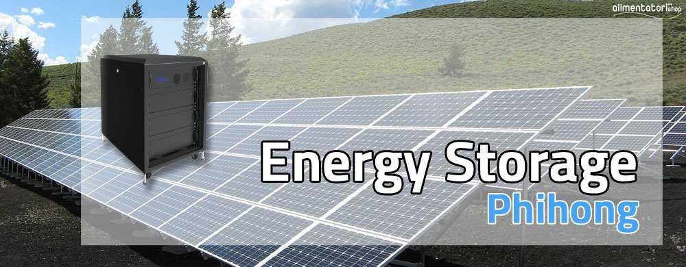 Nuovo Sistema di Energy Storage per sistemi solari con batterie LiFePO4