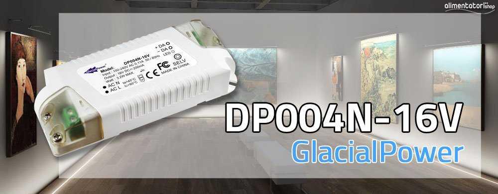 Nuovo Alimentatore DALI da 200mA - DP004N-16V