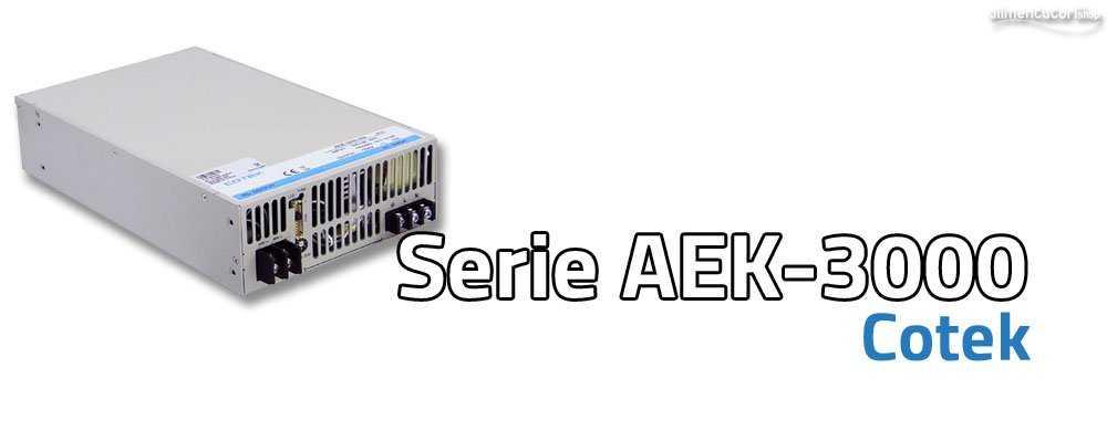 APEC2014 - Presentati nuovi Alimentatori AEK-3000