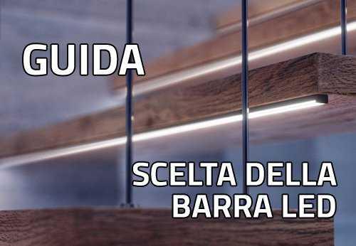 Barre a LED standard o \